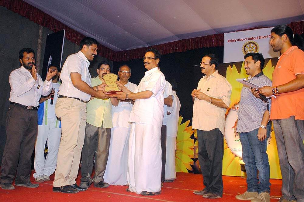Rotary Award - Minster KP Mohan
