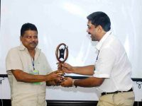 One amoung young Entrepreneur in India -Award - PV Wahab MP